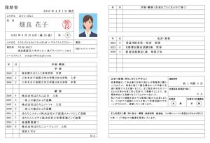 履歴書に記載できる職歴を用意する風俗アルバイト